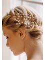AW 2PCS Gold Hair Clips