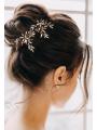 AW 2PCS Rhinestones Bridal Hair Pins