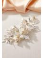 AW Alloy Silver Bridal Hair Comb