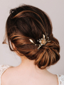 AW Beading Gold Alloy Hair Comb