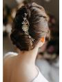 AW Beading Gold Bridal Hair Comb