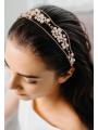 AW Bridal Alloy Gold Hair Vine