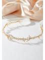 AW Bridal Gold Hair Vine