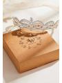 AW Crystal Alloy Wedding Tiara
