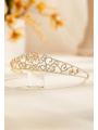 AW Crystal Gold Wedding Crown