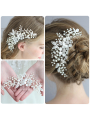 AW Crystal Silver Hair Comb
