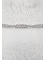 AW Crystal Wedding Sash Belt