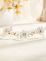 AW Gold Alloy Bridal Hair Comb