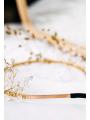 AW Gold Rhinestoned Headband