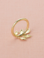 AW Leaf Napkin Ring