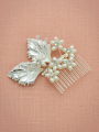 AW Pearly Leaf Hair Comb