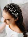 AW Pearly Silver Hair Vine
