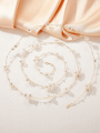 AW Plastic Flowers Headband