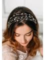 AW Rhinestone Silver Hair Vine