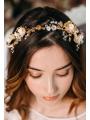 AW Rhinestoned Flower Hair Vine