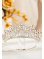 AW Rhinestones Bridal Silver Tiara