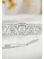 AW Rhinestones Silver Bridal Tiara