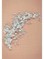 AW Silver Crystal Hair Clip