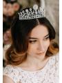 AW Silver Elegant Bridal Tiara