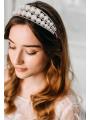 AW Silver Pearly Headband