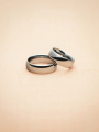 AW Tungsten Carbide Ring Wedding Band, 8mm, Size 5-15