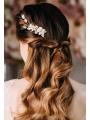 AW White Flower Alloy Hair Clip