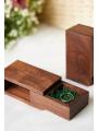 AW Wooden Wedding Ring Bearer Box
