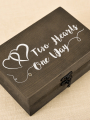 AW Wooden Wedding Ring Box