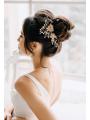 AW Alloy Flower Hair Comb