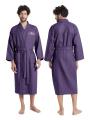 AW Long Cotton Waffle Robe