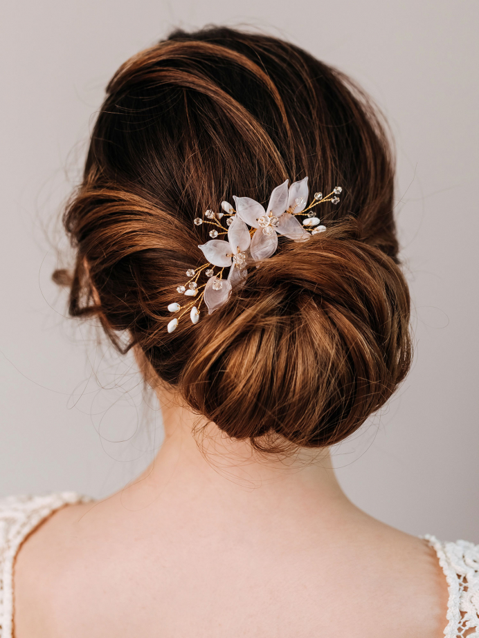 AW Flowers Bridal Hair Comb