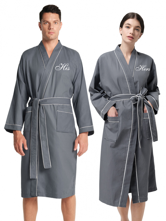 AW Cotton Couples Robes