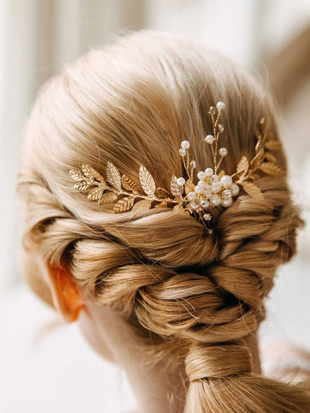 AW Crystal Bridal Hair Vine