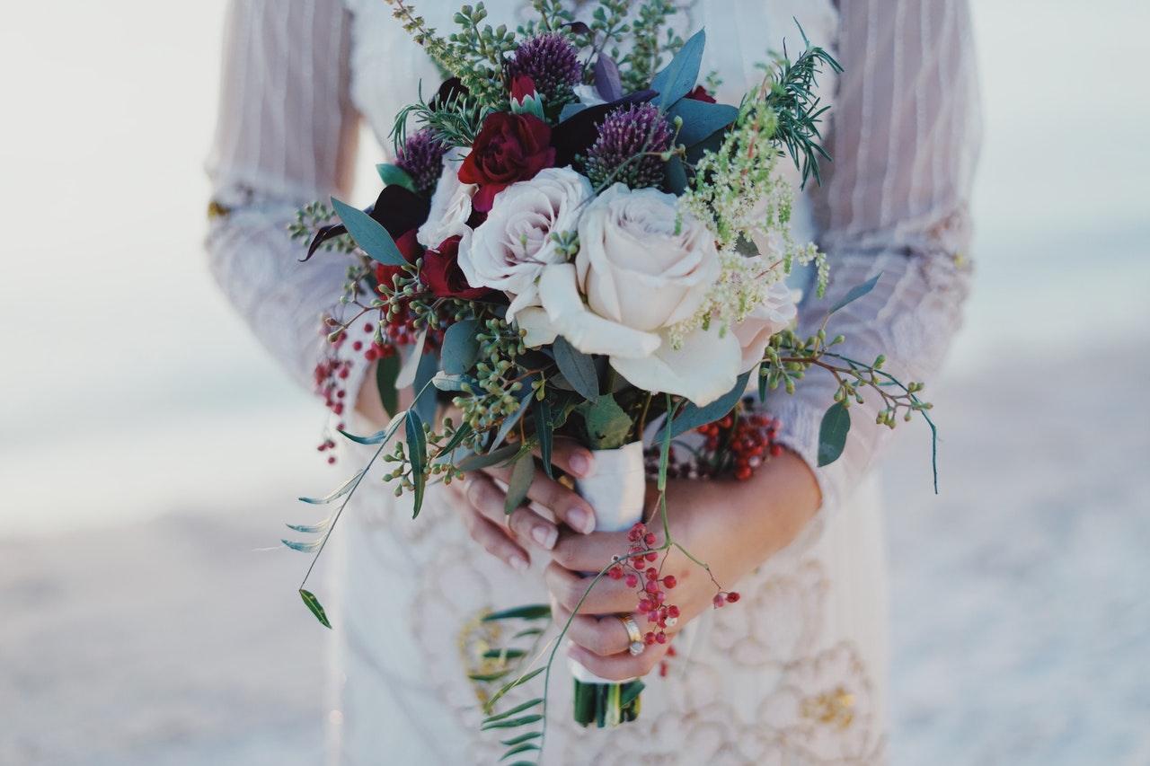 Bohemian Wedding Style Bouquet