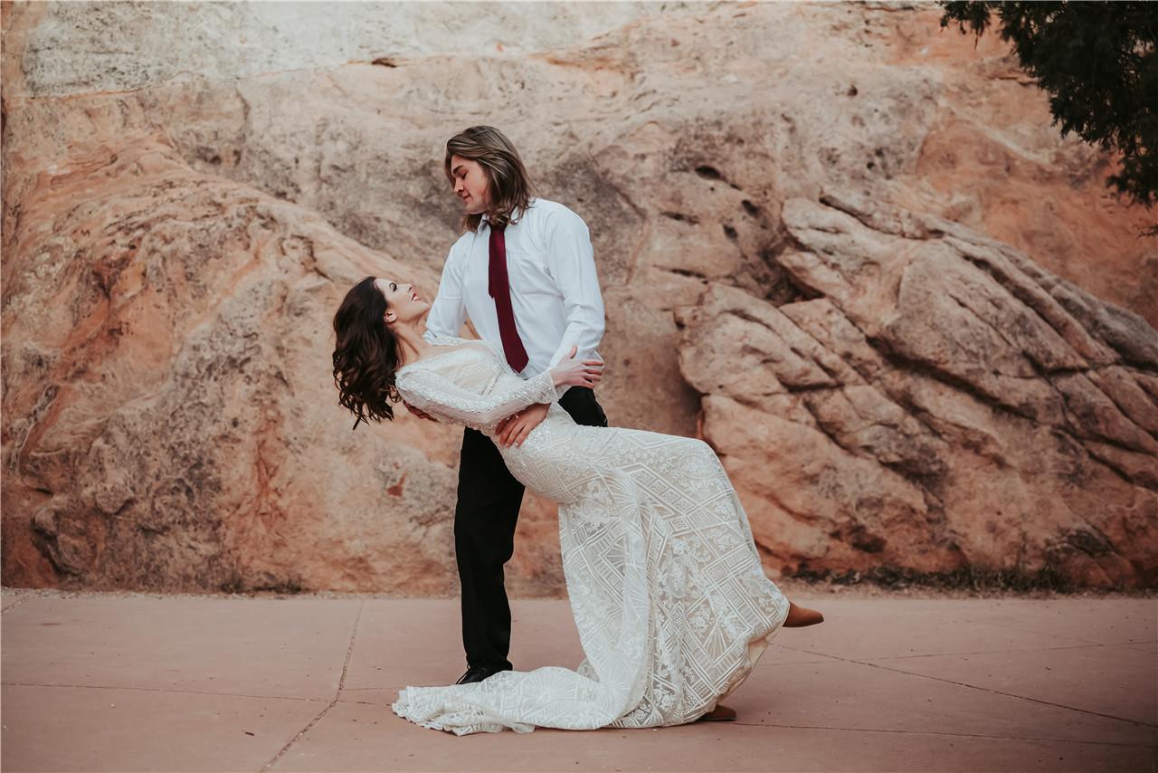 Mountain Boho Wedding