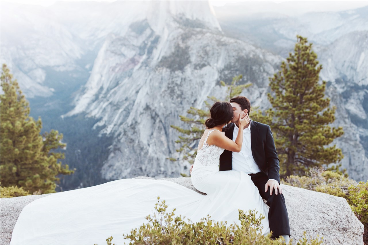 Bohemian MountainStyle Wedding Dress