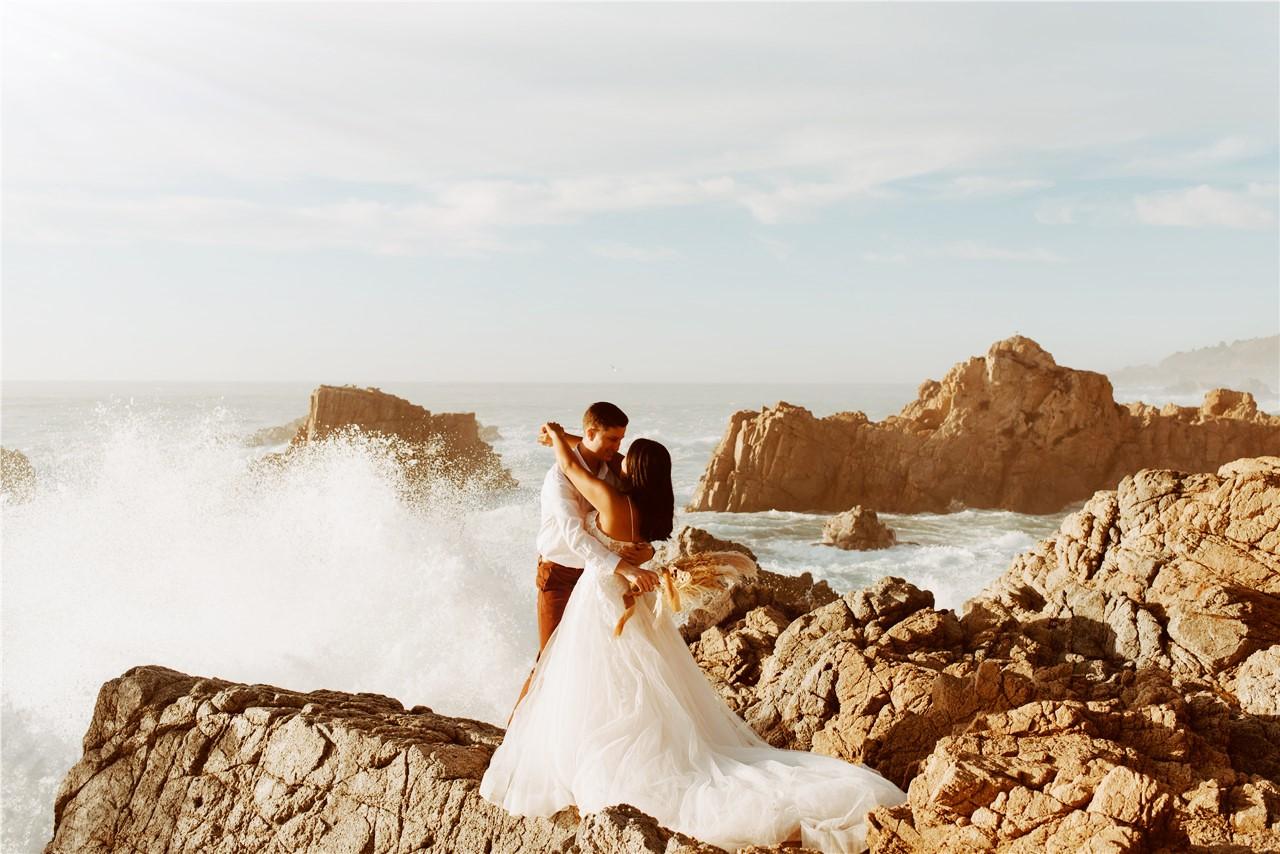 Seaside Boho Wedding Dress