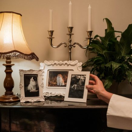 Person Holding White Picture Frame - Bridesmaid Gifts