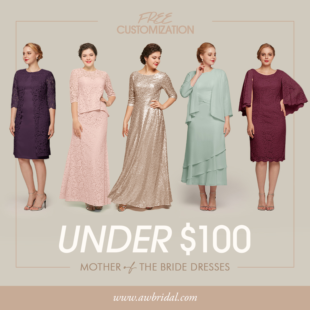 AW Bridal Mother of the Bride Dresses