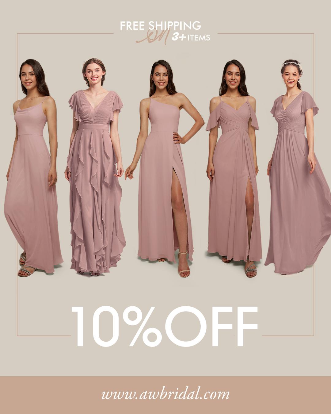 AW Bridesmaid Dresses