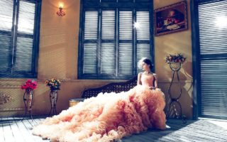 The Best Way to Bustle A Wedding Dress