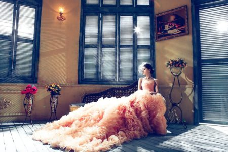 The Best Way to Bustle Wedding Dresses