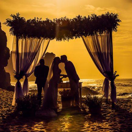 Wedding Ceremony Lasts to Dawn