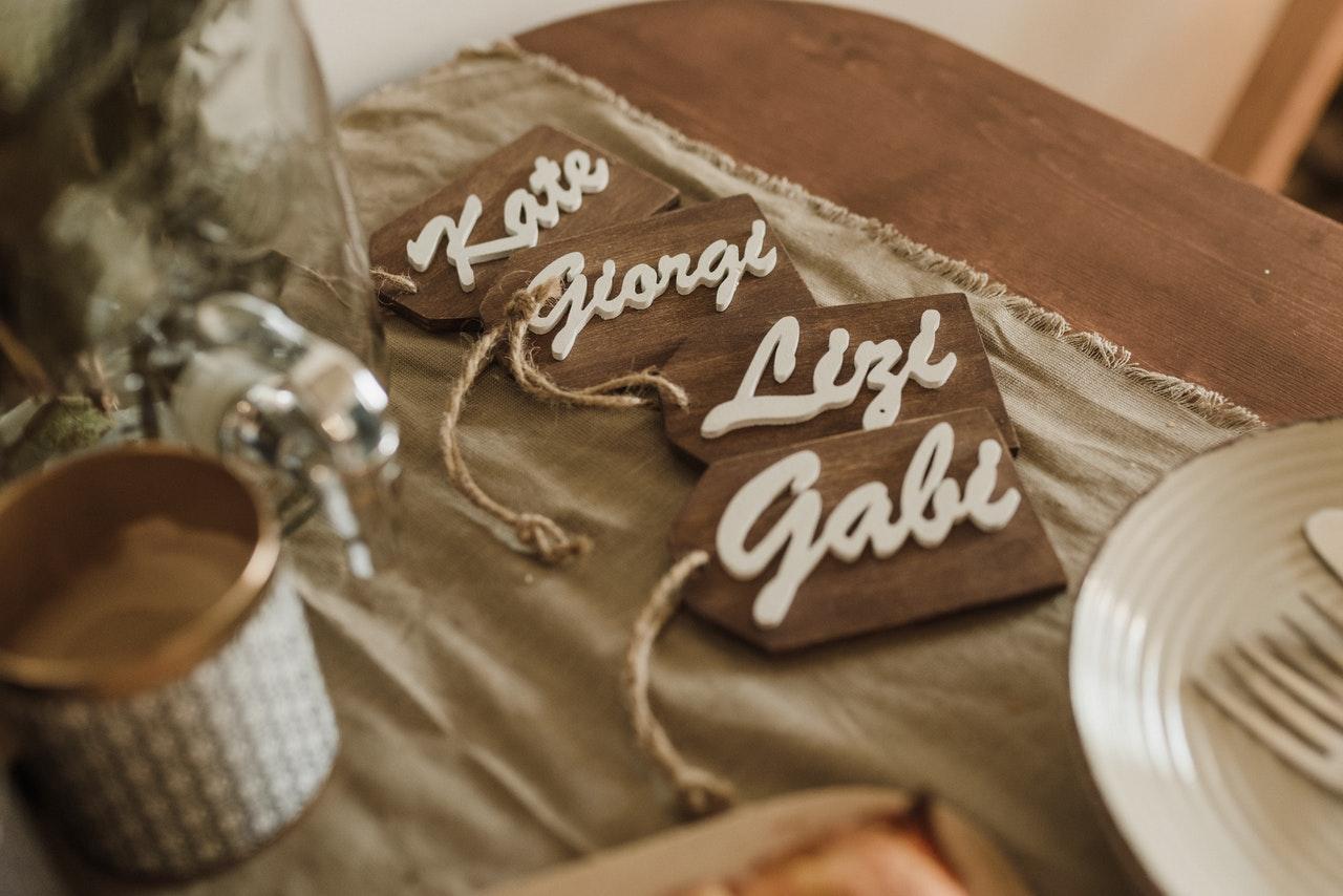 Wedding Table Décor